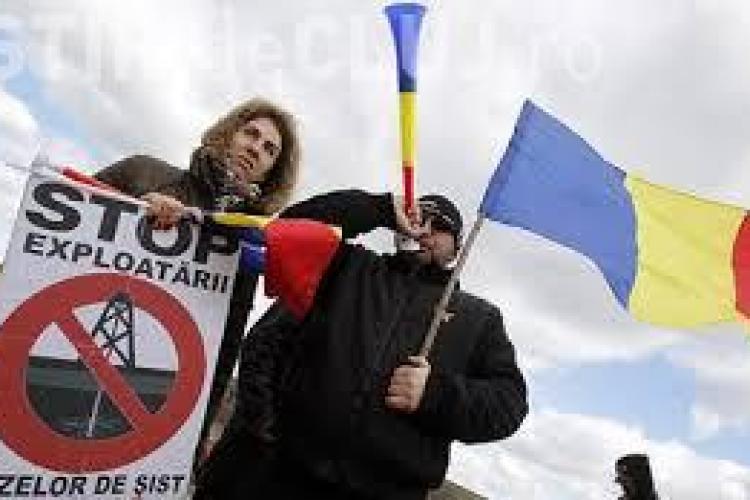 Chevron a suspendat activitatea la Pungești în urma protestelor