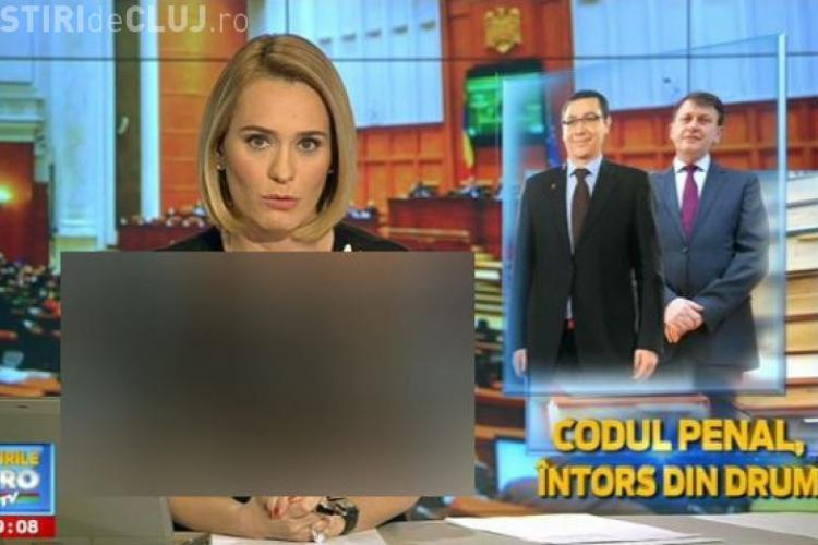 Așa s-a îmbrăcat Andreea Esca la televizor! - FOTO