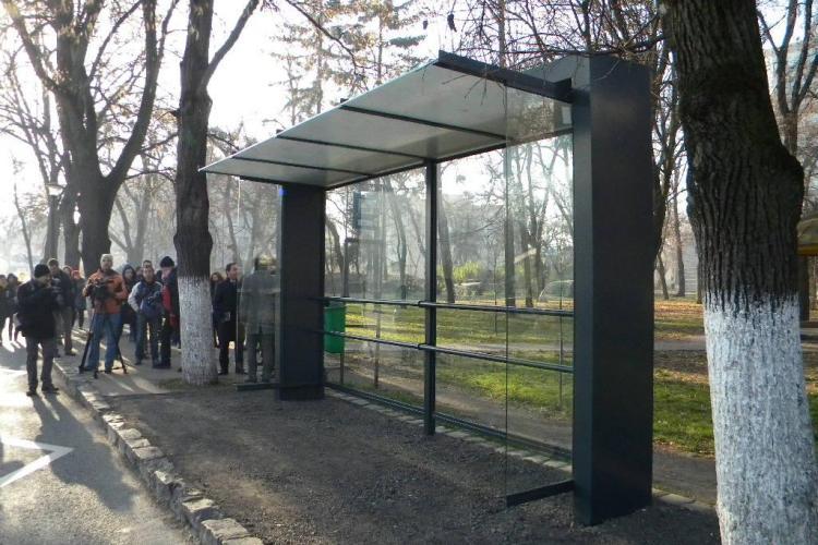 Cum arată noile stații de autobuz din Cluj-Napoca și de când se va circula cu biletele valabile o ORĂ - VIDEO