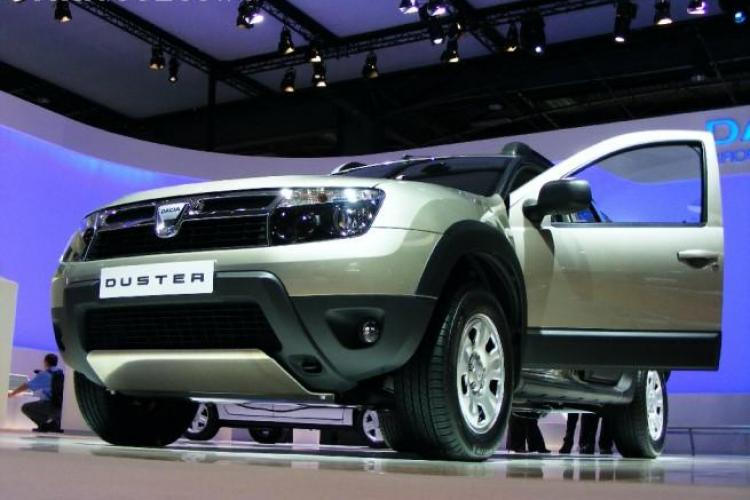 Dacia Duster în varianta militară. Este blindat și are platformă de tragere telecomandată FOTO
