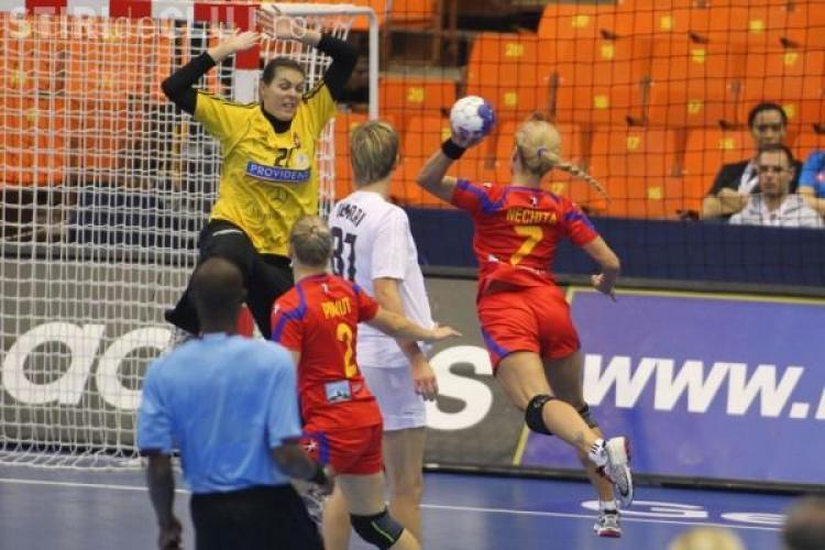 Gest jignitor al suporterilor maghiari în meciul cu România din CM de handbal feminin
