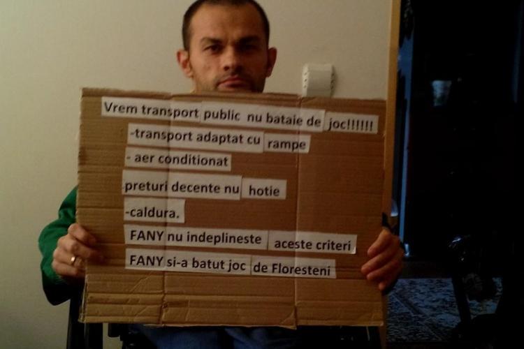 Protest la Florești împotriva Fany - FOTO