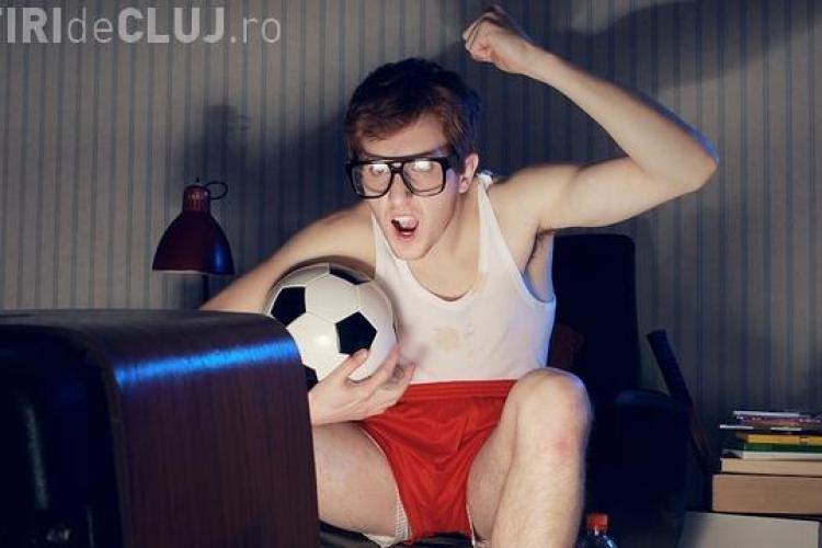 Te uiți la fotbal? Vezi cum îți îmbunătățești condiția fizică