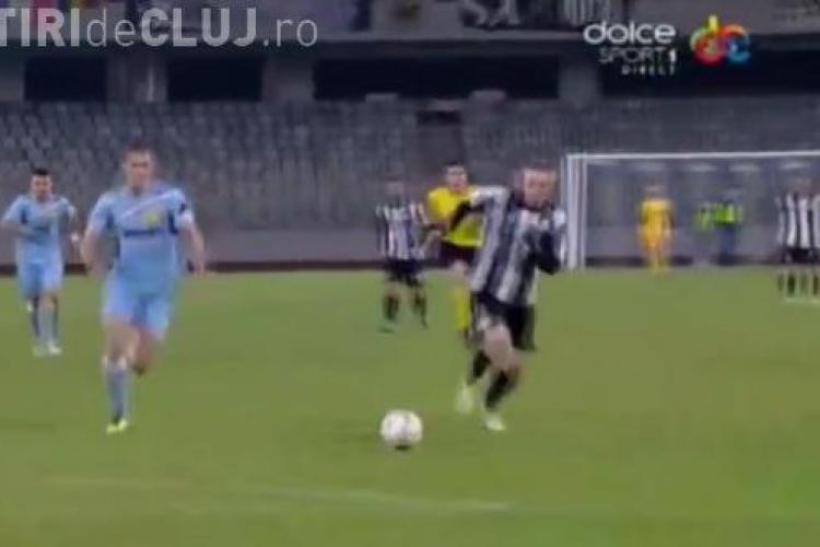 U Cluj - FC Braşov 2-0 REZUMAT VIDEO - Se întâmplă și minuni. Au înscris Lemnaru și Lorand Kovacs