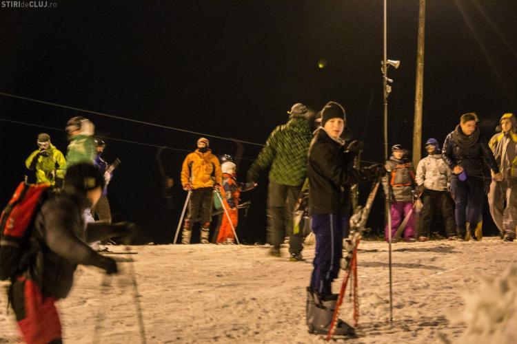 Pârtia Teleschi Feleacu s-a deschis pentru amatorii de sporturi de iarnă - Galerie FOTO