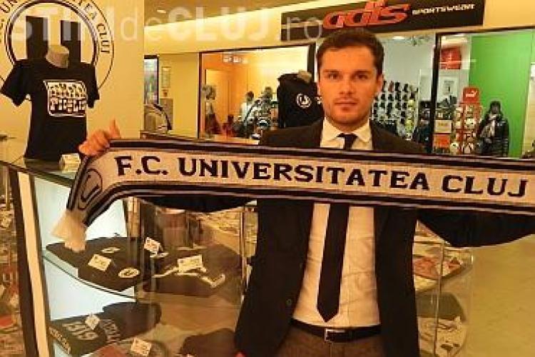 """Vlăduț Munteanu, noul manager special al """"U"""" Cluj: """"Universitatea Cluj este un monstru ranit"""""""