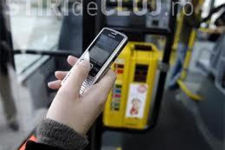 Plata biletelor RATUC prin SMS la Cluj-Napoca