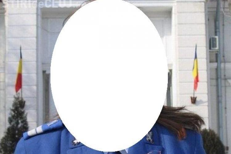 O angajată a Jandarmeriei Române a fost desemnată cea mai frumoasă femeie în uniformă FOTO