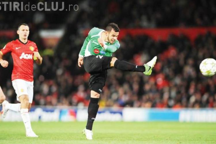 S-a ales PRAFUL de echipa CFR Cluj care învingea pe Manchester cu 1-0, în 5 decembrie 2012