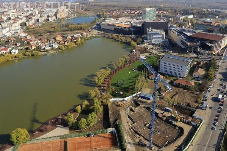 Iulius Mall Cluj a închiriat deja mai mult de jumătate din clădirea de birouri de lângă parc