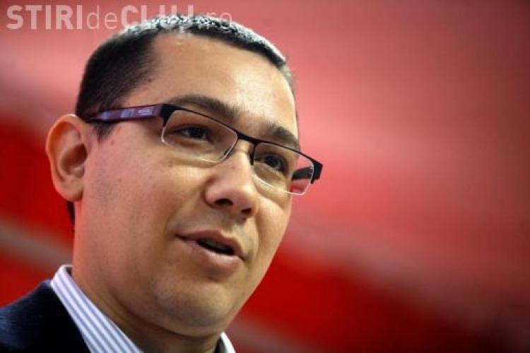 Ponta nu este de acord cu legea amnistierii: Corupţii trebuie să rămână în închisoare