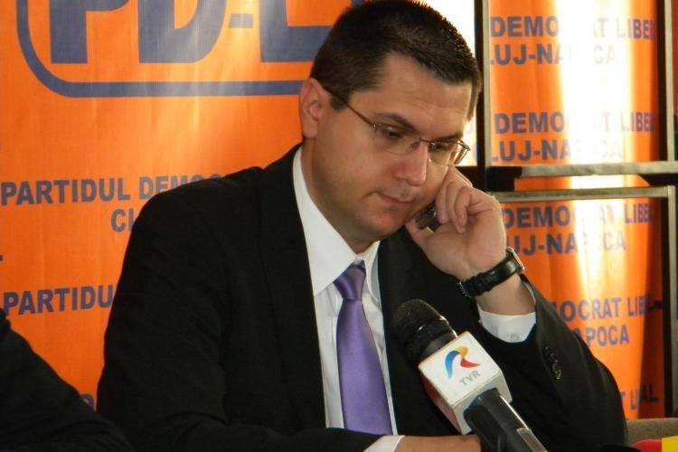 Radu Moisin, ales președinte al PDL Cluj-Napoca