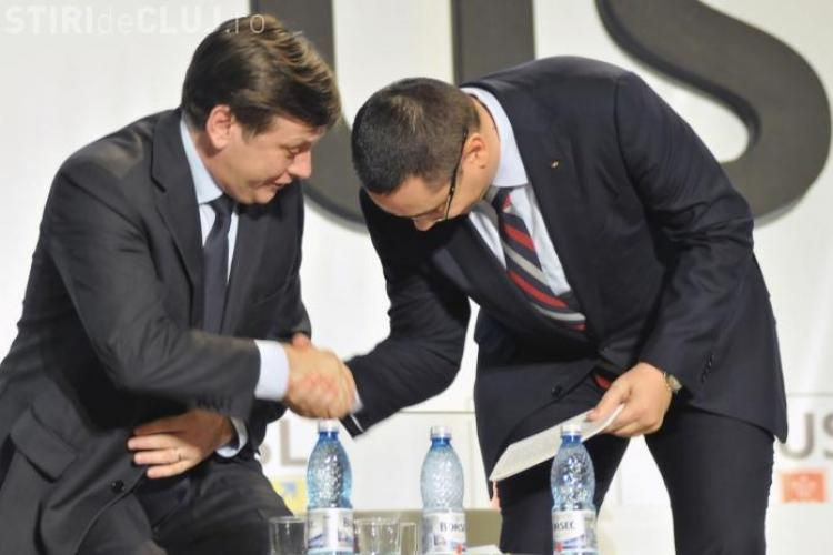 Se rupe USL? Ponta: Crin a MINŢIT / Antonescu: Ponta e lipsit de bună cuviinţă
