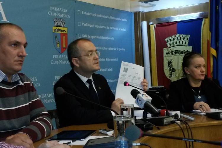 Cluj: Se pot plăti taxele locale prin telefonul mobil în PREMIERĂ