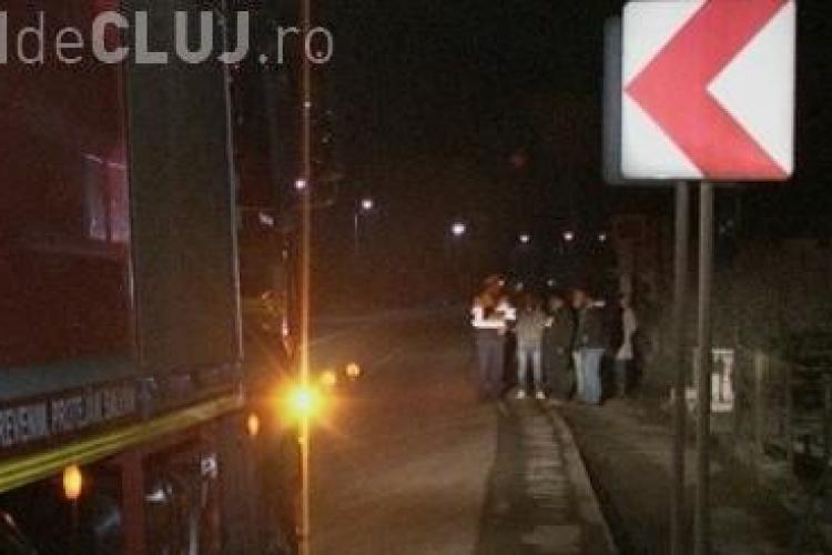 Accident la Iclod! A rupt o țeavă de gaz și a fugit - VIDEO