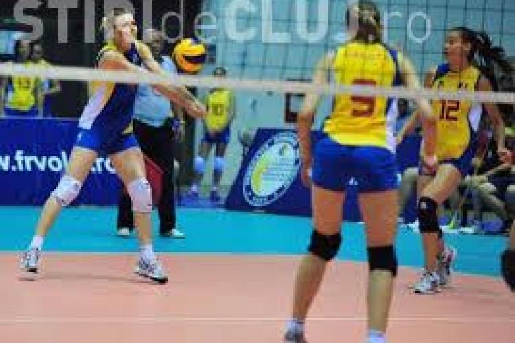 România a învins Ucraina cu 3-2 în preliminariile CM de volei feminin