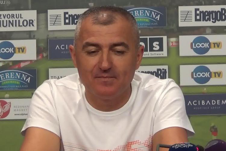 Grigoraș s-a săturat de criza de la CFR Cluj! Ce a declarat după meciul pierdut la Timișoara