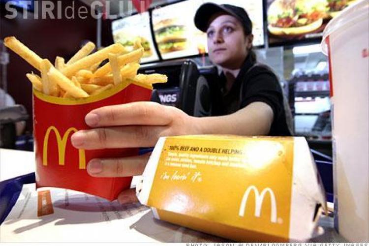 McDonald's le recomandă angajaților să nu mănânce fast-food