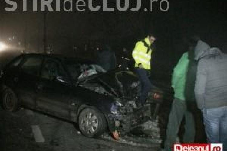 Accident grav la Dej. Trei mașini au fost făcute praf VIDEO