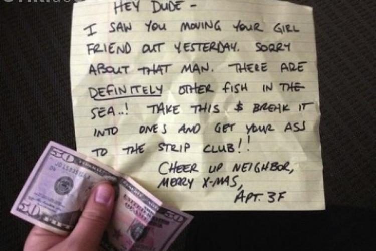 Cel mai tare cadou de despărțire. Imaginea a ajuns virală pe internet FOTO