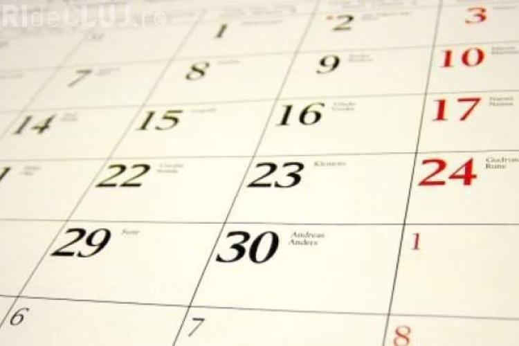 Câte zile libere vor avea românii în 2014