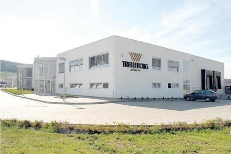 Circa 300 de locuri de muncă vor fi create de compania Trelleborg Automotive Dej