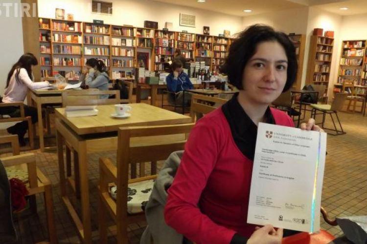 O profesoară din Cluj, de la o școală de cartier, i-a impresionat pe specialiştii Cambridge