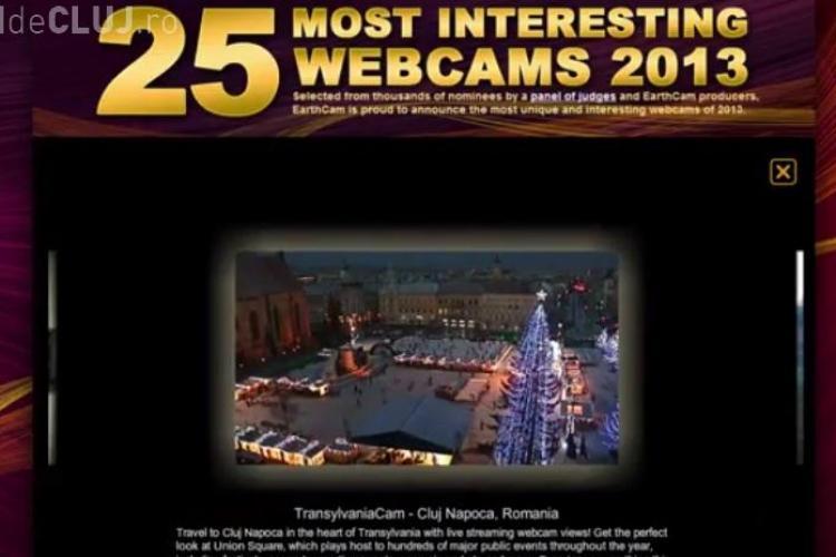 Webcam -ul din Piața Unirii inclus în TOP 25 cele mai interesante din lume - FOTO