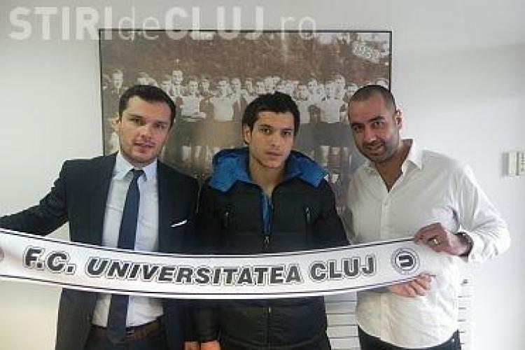 """""""U"""" Cluj anunță un al doilea transfer în 2014. Francezul Boutadjine a semnat pe un an și jumătate"""