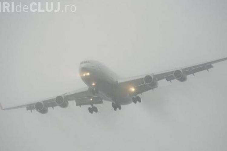 Ceața cauzează probleme la Aeroportul din Cluj. Șapte zboruri au fost amânate UPDATE