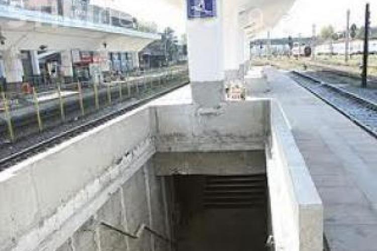 Pasajele subterane din Piaţa Gării vor fi unite și vor avea scări rulante. Cât va costa investiție?