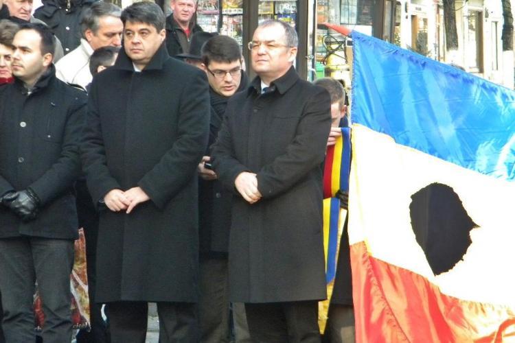 Revoluționarii de la Cluj: Să-l dăm jos pe Ponta și să-l punem înapoi pe Boc - VIDEO