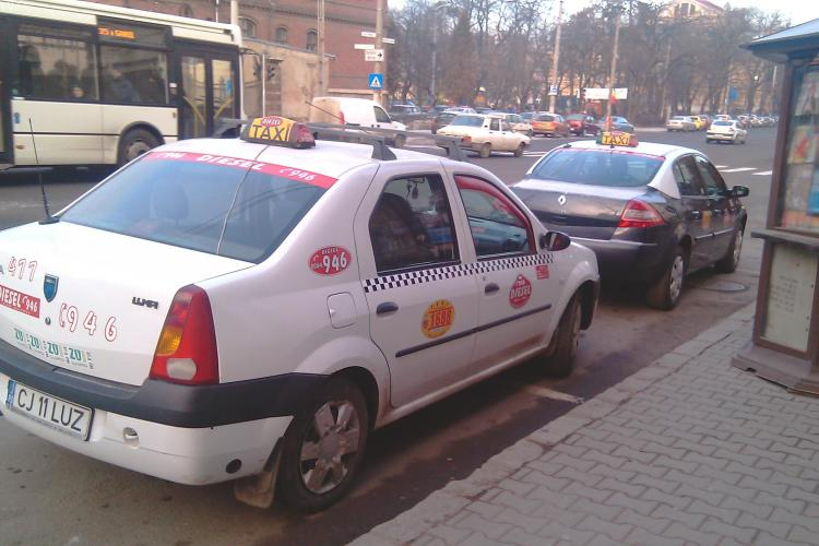 """Taximetriști amendați în Mănăștur! A fost prins și un """"ilegalist"""" din Florești"""