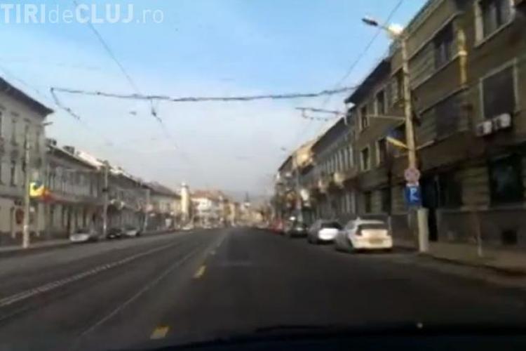Clujul, așa cum poate fi văzut numai de 2 - 3 ori pe an - VIDEO