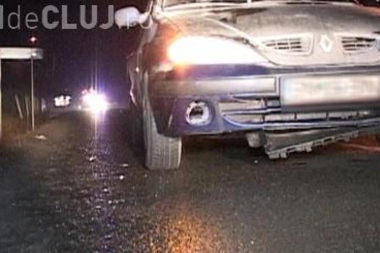 Accident grav la Bonţida de Anul Nou. Un pieton a fost lovit mortal lângă trecere VIDEO