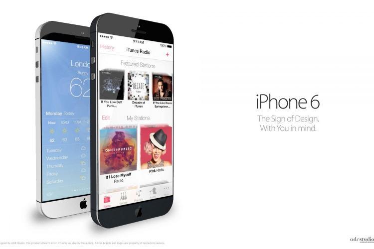 Cum ar putea arăta noul iPhone 6 - FOTO