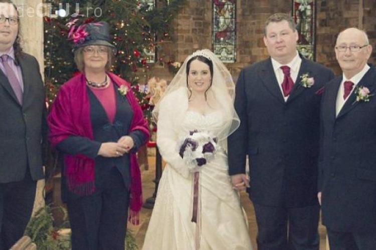 S-a văzut într-o poză de nuntă cât e de gras și a slăbit exagerat de mult - FOTO