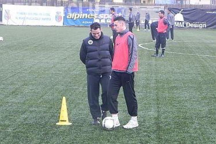 """""""U"""" Cluj renunță la trei jucători, dar aduc mai mulți juniori la echipa mare: """"Avem nevoie de întăriri"""""""