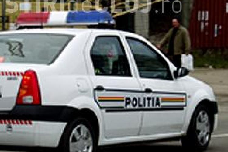Un barbat din Huedin circula pe drumuri cu o masina furata din Bucuresti