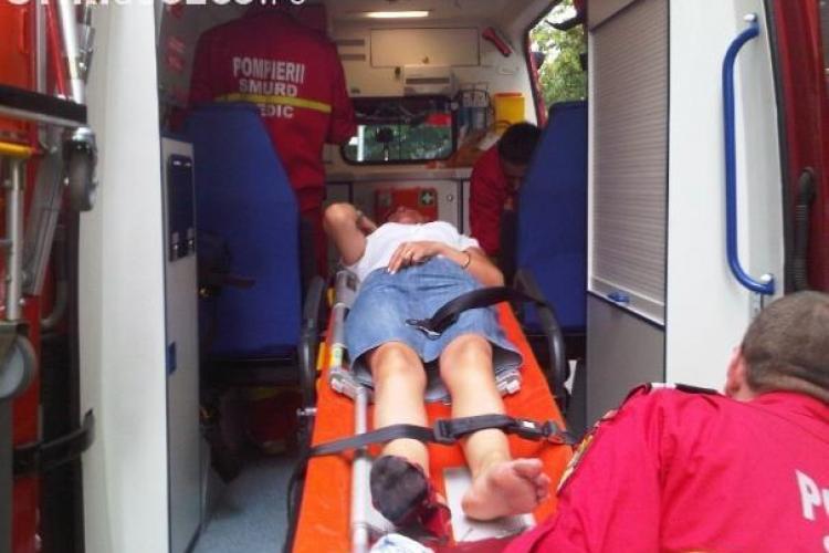 Accident cu sase victime la Rascruci. Un sofer a intrat in depasire, dar a derapat si s-a izbit de un Fiat