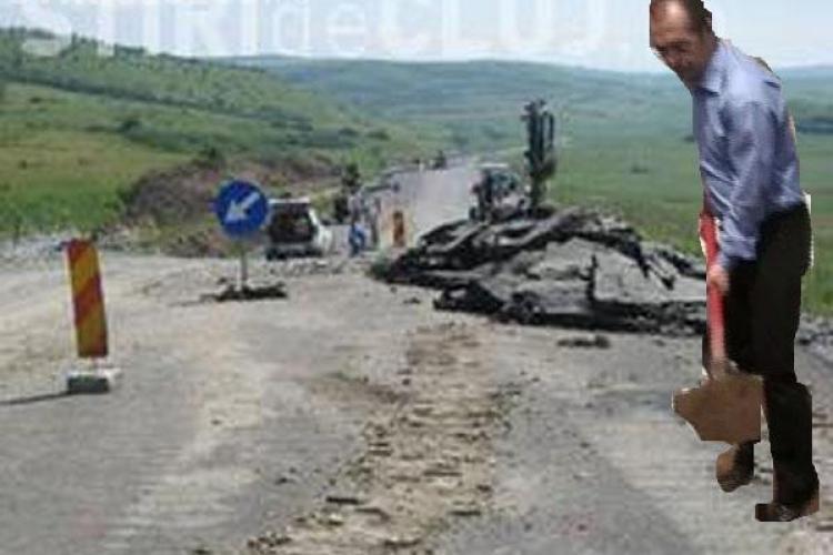 Boc viziteaza autostrada Transilvania si centura Valcele-Apahida. Va fi oare huiduit?