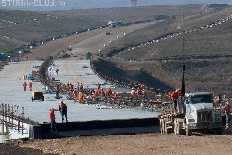 Tronsonul 2B al autostrazii Transilvania, intre Turda si Campia Turzii, va fi gata pana in noiembrie