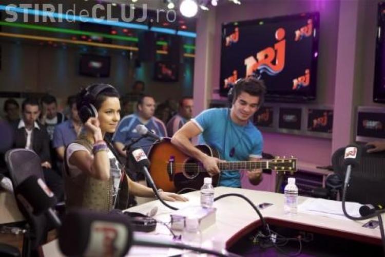 Inna a cantat live la NRJ Radio Paris! Vezi show -ul oferit de romanca! - VIDEO