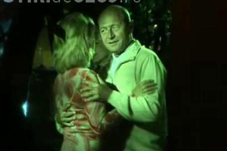 Basescu a sarbatorit la Ciresica remanierea Guvernului - VIDEO