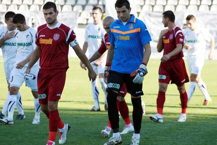 LIVE TEXT CFR Cluj - Pandurii 2-1 - VEZI golurile lui Emmanuel Kone si Hugo Alcantara! - FINAL
