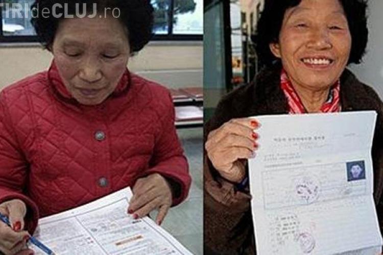A obtinut permisul de conducere, dupa ce a dat examenul de 960 de ori