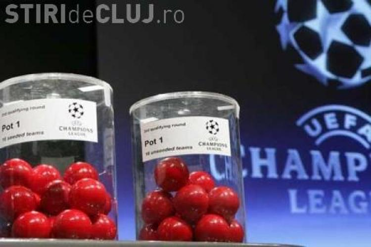 CFR Cluj va juca cu Bayern, Roma si Basel in grupa E a Champions League - VIDEO tragerea la sorti