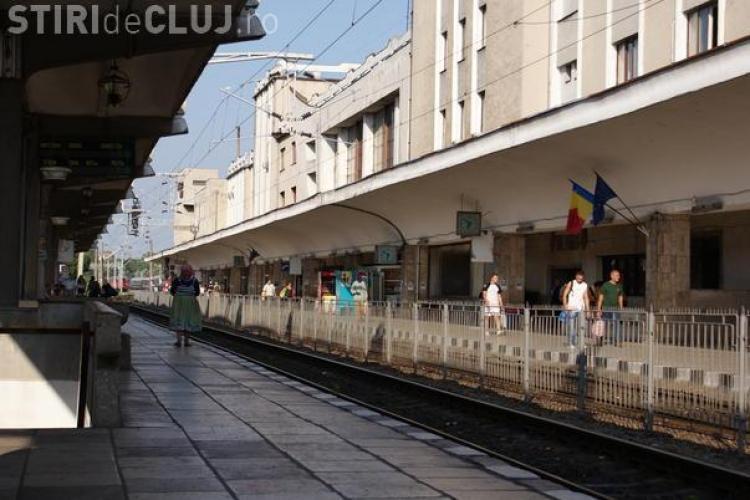 Intarzierea de 9 ore a acceleratului Constanta-Cluj, record european!