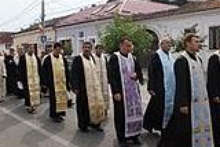 Pelerinaj greco-catolic la Cluj, de Sfanta Maria
