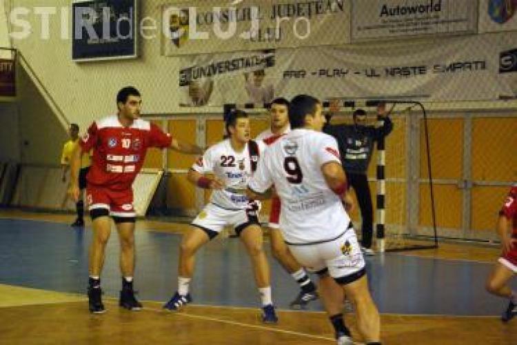 U Transilvania Cluj pleaca in Serbia la un turneu de handbal